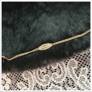 Jewelry - 14kt Solid Gold Rope Bracelet